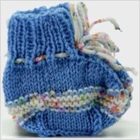 timeless design e96ac bbf6e Babyschuhe, blau