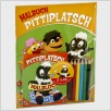 Malbuch-Set Pittiplatsch