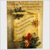 Weihnachtspostkarte Am Weihnachtsbaum ...