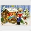Wichtelpostkarte Weihnachtsmarkt