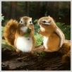 Streifenhörnchen Burunduk