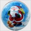 Weihnachtskugel - Winterzeit