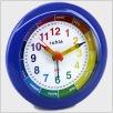 Quarzwecker, Lern-Uhr, blau