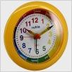 Quarzwecker, Lern-Uhr, gelb